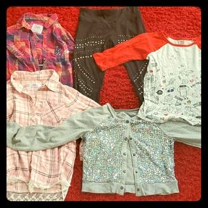 Girls Justice lot, sizes 10 and 12